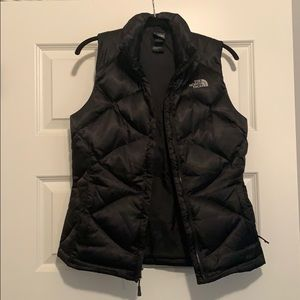 North Face Black Puffer Vest - ONLY WORN ONCE!